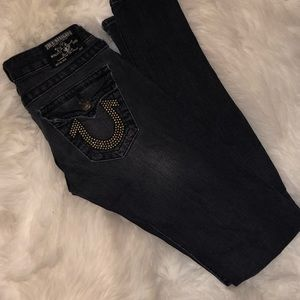 Authentic True Religion skinny jeans (Size 25)